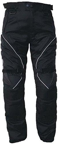 Protectwear WCT-703-54 Motorradhose, Textilhose, Größe 54, Schwarz