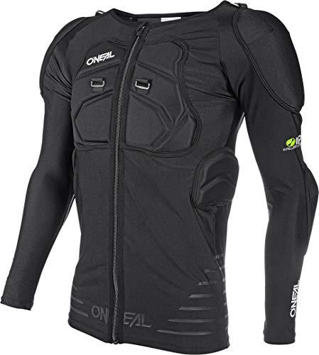 O'NEAL | Protektoren-Jacke | Motocross Enduro Motorrad | Elastisch leichte Protektorenjacke, aus Polyurethan-Schaum, Mesh-Einsatz | STV Long Sleeve Protector Shirt | Erwachsene | Schwarz | Größe S