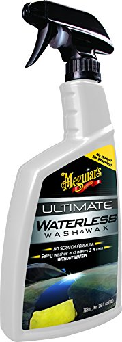 Meguiar's G3626EU Ultimate Waterless Wash & Wax Trockenwäsche, 768ml