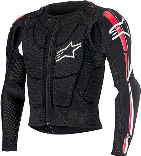 Alpinestars Jacke Moto Protektoren Schulter Ellenbogen Brust Rücken Bionic Plus