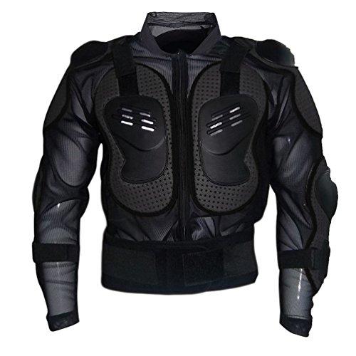 Dexinx Motorrad Rüstung Jacke Motocross Mountain Radfahren Skating Snowboard Body Protector Schwarz S