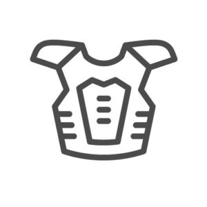 Illustration von Brustpanzer