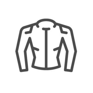 Illustration von Protektorenjacke