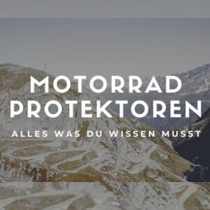 Protektoren für Motorradfahrer – Geballtes Wissen & nützliche Kauftipps