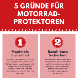 5 Gründe für Protektoren: neue Infografik