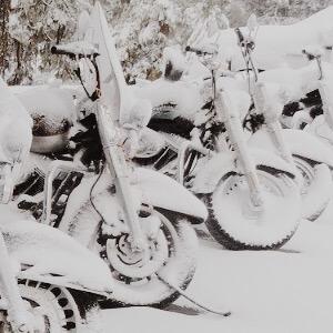 Motorrad einlagern im Winter: 8 Tipps