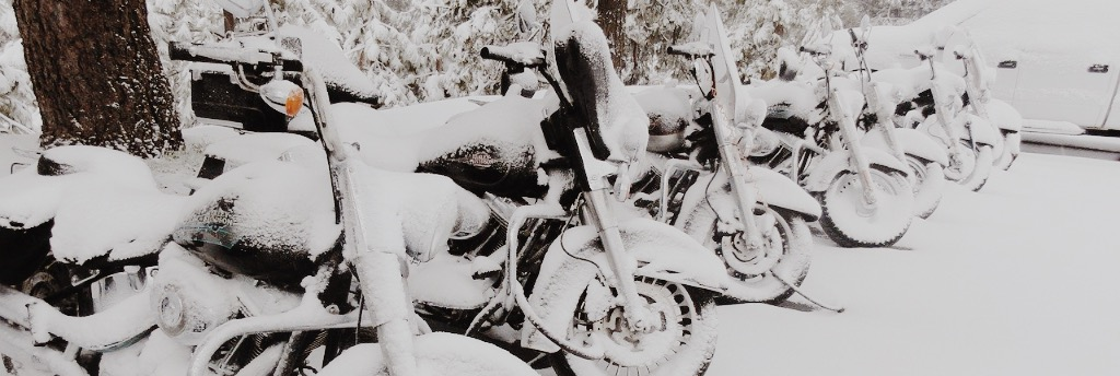Motorrad einlagern im Winter